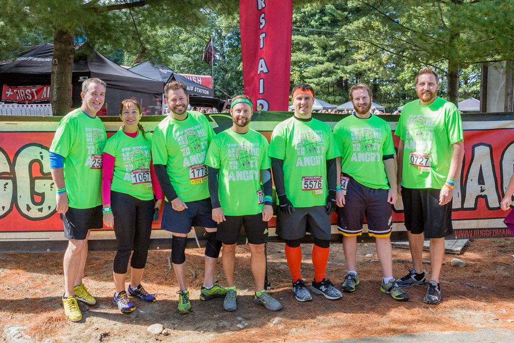 Kelser Krew at 2016 Rugged Maniac