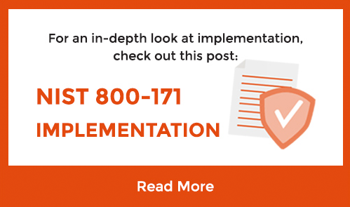 NIST 800-171 Implementation