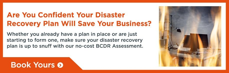 No-Cost Business Continuity Disaster Recovery Assessment