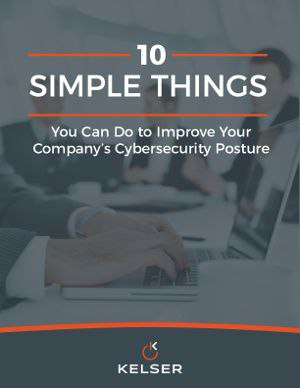 Cybersecurity eBook Cover Image