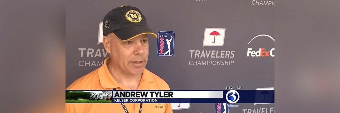 WFSB Channel 3 Eyewitness News Highlights Kelser as IT Provider for the Travelers Championship